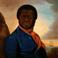 Image:  Unknown artist Portrait of a black sailor (Paul Cuffe?) 1800 (detail), Los Angeles County Museum of Art, purchased with funds provided by Cecile Bartman