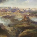 Image: Thomas Moran Grand Canyon of the Colorado River 1892–1908 (detail), Philadelphia Museum of Art, gift of Graeme Lorimer, 1975
