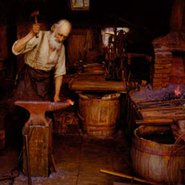 Image: Jefferson David Chalfant The blacksmith 1900-07 (detail), Terra Foundation for American Art, Daniel J Terra Art Acquisition Endowment Fund