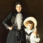 Image: John Singer Sargent Portrait of Mrs Edward L Davis and her son, Livingston Davis 1890 (detail), Los Angeles County Museum of Art, Frances and Armand Hammer Purchase Fund. Photo: Museum Associates/LACMA