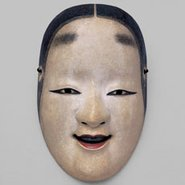 Image: Nō mask Ko-omote, Edo period, 17th century, National Noh Theatre