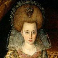 Image: Robert Peake the Elder Elizabeth, Queen of Bohemia c1610 (detail). National Portrait Gallery, London