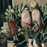 Image: Margaret Preston NSW and West Australian banksia 1929 (detail), Queensland Art Gallery, Brisbane, purchased 1972 © Margaret Rose Preston Estate, licensed by Viscopy, Sydney