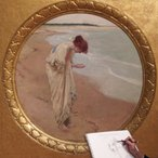 Image: William Henry Margetson The sea hath its pearls 1897