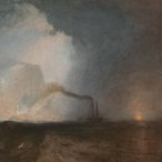 Joseph Mallord William Turner Saffa, Fingal's Cave 1931-32 (detail), oil on canvas, Tate Centre for British Art, Paul Mellon Collection