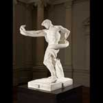Athlete struggling with a python original 1874–77, marble replica 1888–91