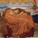 Study for 'Flaming June' c1895