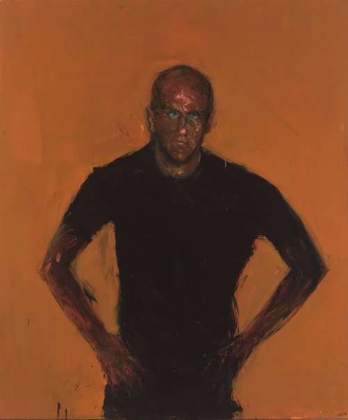 Geoffrey Dyer's Portrait of Richard Flanagan (2003)