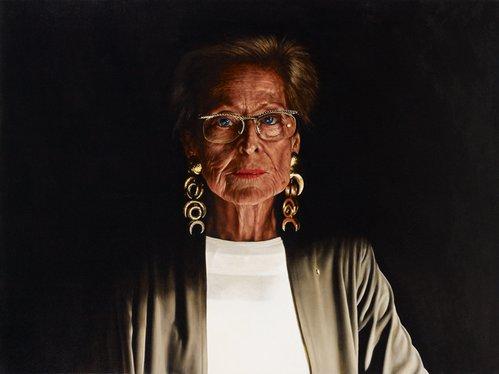 Rick Amor: Portrait of Lewis Miller :: Archibald Prize