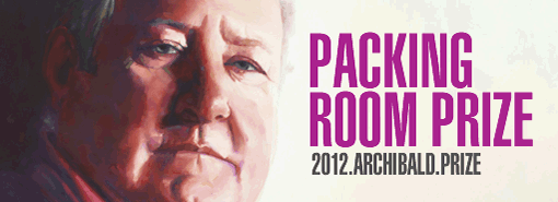 Archibald Prize 2012 Packing Room Prize Winner Art