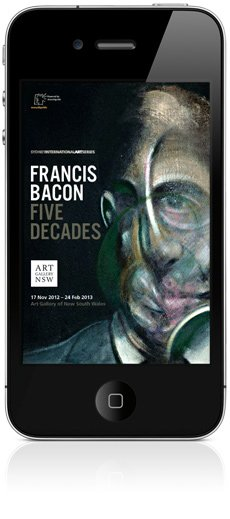 Francis Bacon app for iPhone