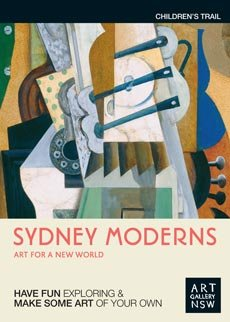 Sydney Moderns children trail cover image