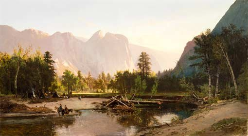William Keith, Yosemite Valley, 1875
