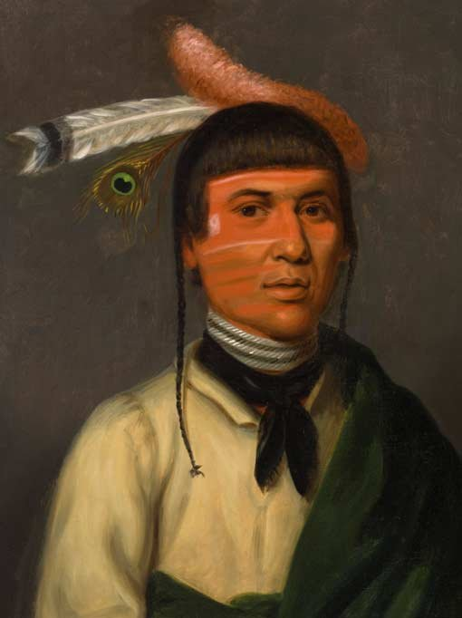 Henry Inman, No-Tin (Wind), a Chippewa chief 1832–33