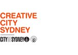 City of Sydney - Creative City Sydney logo