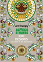 Art Therapy : Aztecs and Mayas Colouring Book, Michel Solliec - $25.00