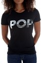 POP T-Shirt Fitted : Black,  - $28.00