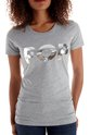 POP T-Shirt Fitted : Grey Marle ,  - $28.00