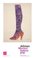Shoe and Leg ( December Shoe ) Andy Warhol Poster Print, Andy  Warhol - $20.00