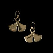 Taka Earrings: Gold : AGNSW Highlights Jewellery Collection,  - $125.00