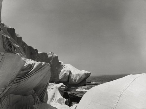 Christo and Jeanne-Claude Wrapped Coast, Little Bay, Australia 1969