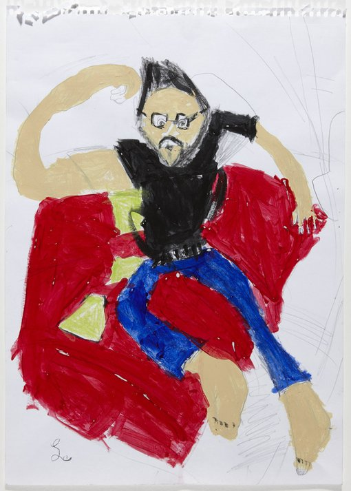 WinnerLiam WilliamsonAge 7Peakhurst NSW  	I have chosen my dad because he is a special person for a good reason in my way. I have a lot of fun with me and him. We love comics, drawing, painting and cartoons of heroes. I sketched him on the couch because it is our hangout place. I think I get my passion from him. He is a generous person to me.