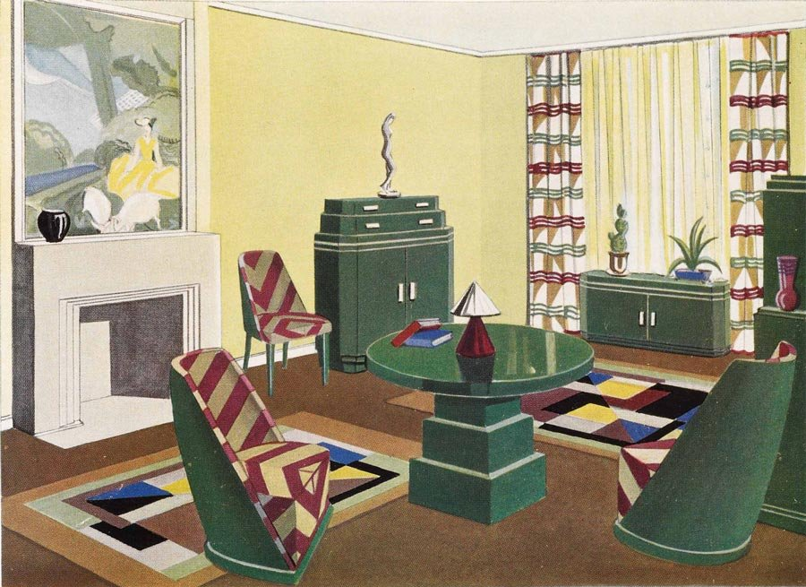 Burdekin house display and silent auction sydney for 1920s living room ideas