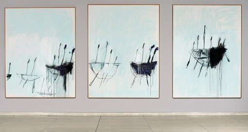 Cy Twombly Three studies from the Temeraire 1998/99