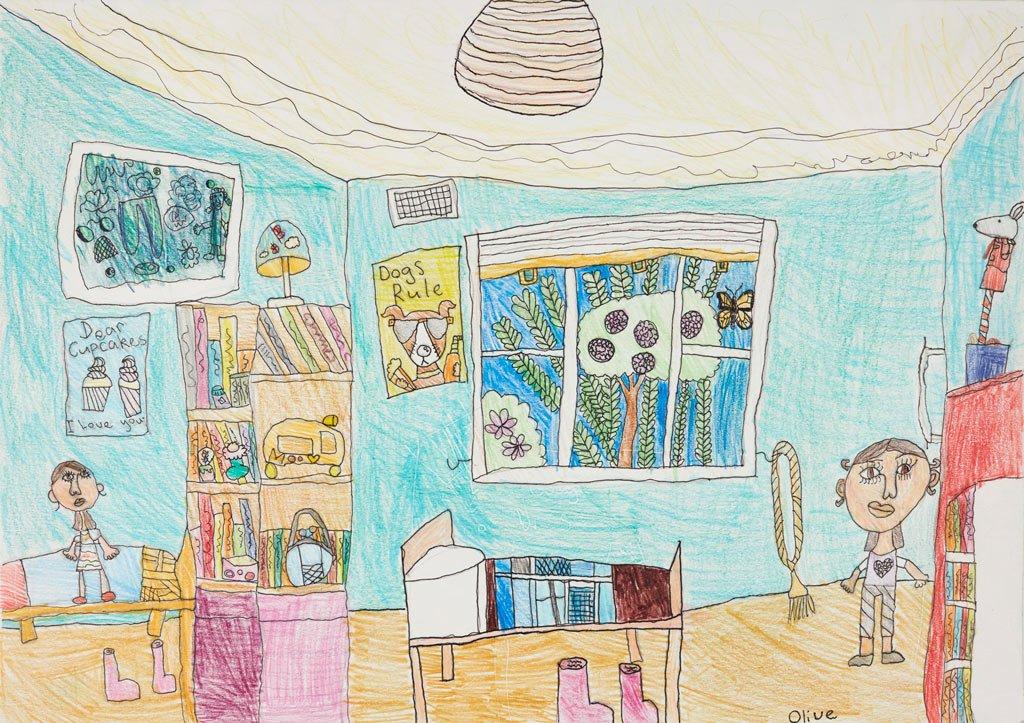 Kids Bedroom Drawing wonderful kids bedroom drawing and more on diy bed ideas