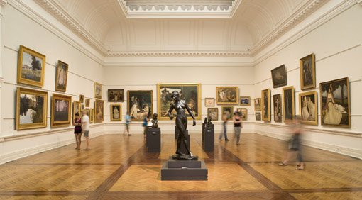a view inside 19th c Australian art