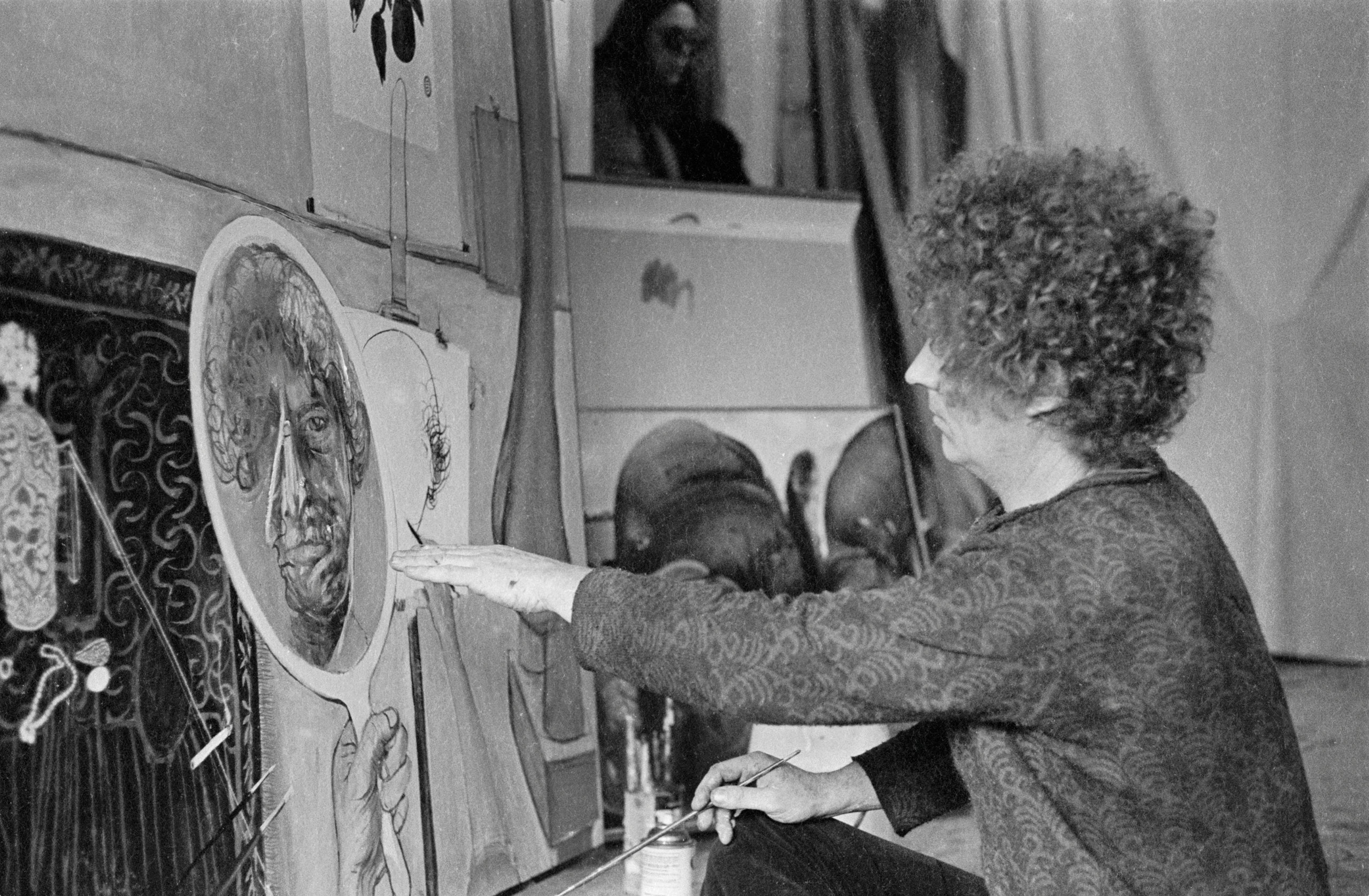 in the studio by brett whiteley essay Below is an essay on brett whiteley from anti essays, your source for research papers, essays, and term paper examples  studio arts artist analysis.