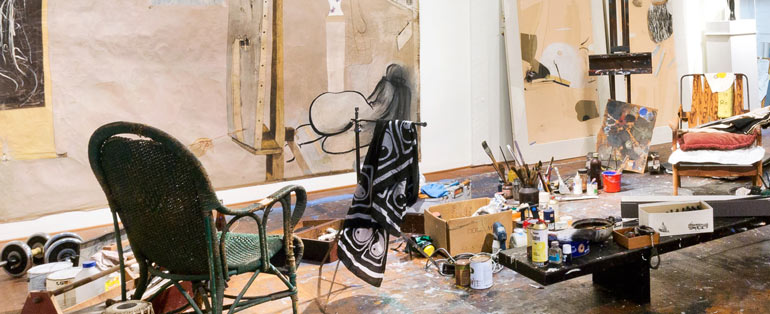 about the studio    brett whiteley studio    art gallery nsw
