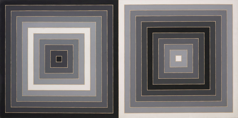 Frank stella featured artists and works new for Minimal art gallery